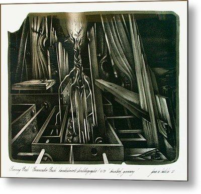 Burning Bush 1982 Metal Print by Glenn Bautista
