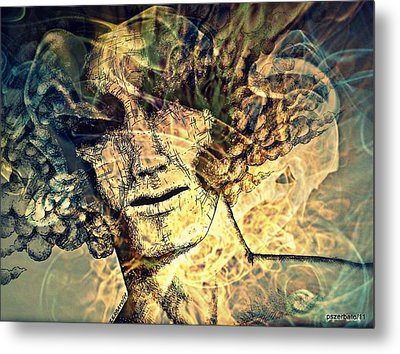 Burnout Syndrome Of The Resign Yourself Metal Print by Paulo Zerbato