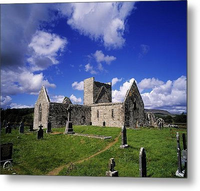 Burrishoole Friary, Co Mayo, Ireland Metal Print by The Irish Image Collection