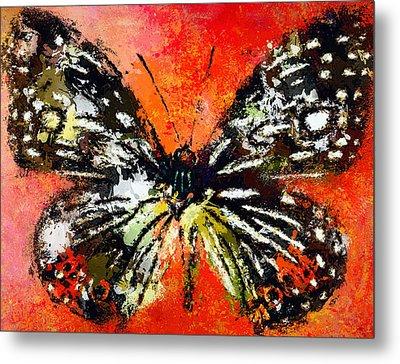 Butterfly 3 Metal Print by Yury Malkov