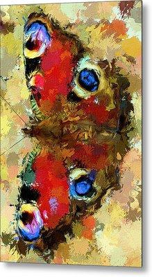 Butterfly Metal Print by Yury Malkov