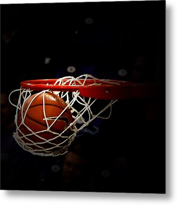 Buzzer Beater  Metal Print by Judge Howell