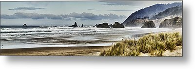 By The Sea - Seaside Oregon State  Metal Print