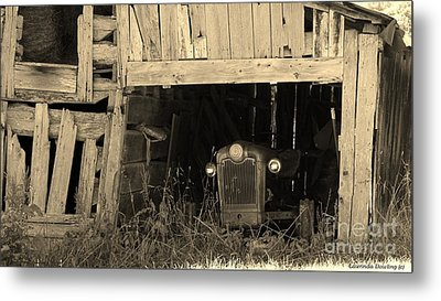 Metal Print featuring the photograph Bygone Era by Laurinda Bowling