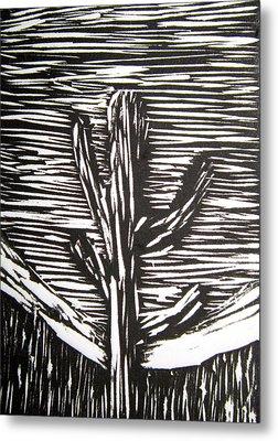 Cactus Metal Print by Marita McVeigh