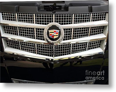 Cadillac . 7d9524 Metal Print by Wingsdomain Art and Photography