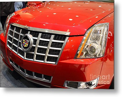 Cadillac . 7d9561 Metal Print by Wingsdomain Art and Photography