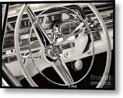 Cadillac Control Panel Metal Print by Miso Jovicic