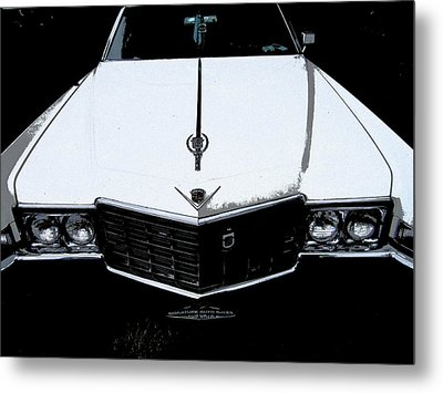 Cadillac Pimp Mobile Metal Print by Kym Backland