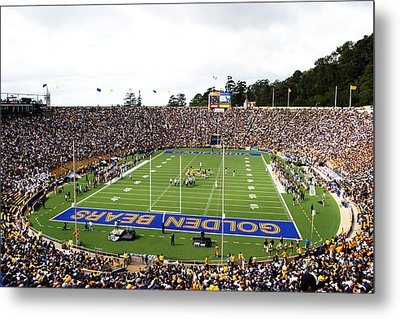 Cal  Memorial Stadium Metal Print by Icon Sports Media