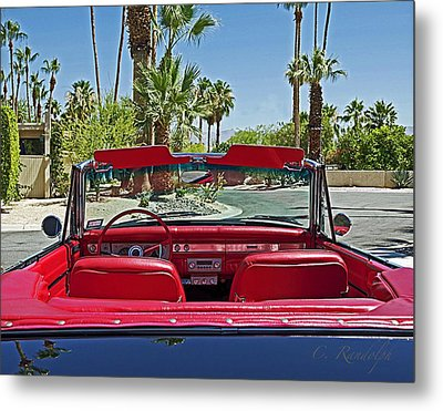 Metal Print featuring the photograph California Cruisin' by Cheri Randolph