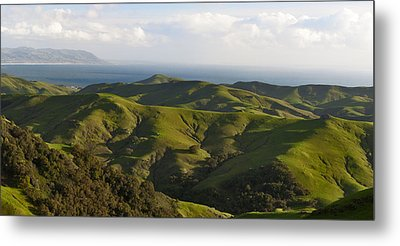 California Dreaming 2 Of 2 Metal Print by Gregory Scott