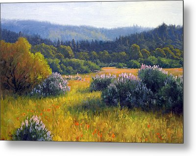 California Spring Metal Print