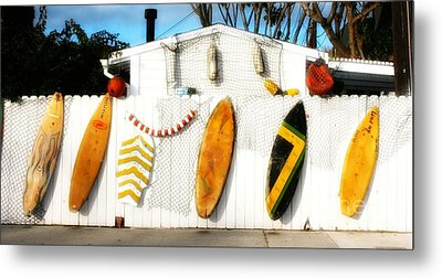 California Surf Shack Metal Print