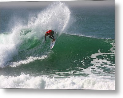 California Surfing 3 Metal Print by Larry Marshall