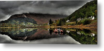 Calm Before The Storm Metal Print by John Chivers