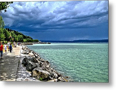 Calm Before The Storm Metal Print by Rob Green