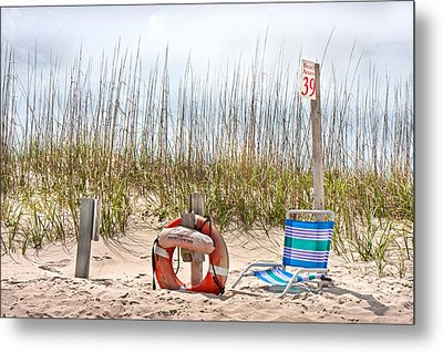 Calm By The Sea Metal Print by Betsy Knapp