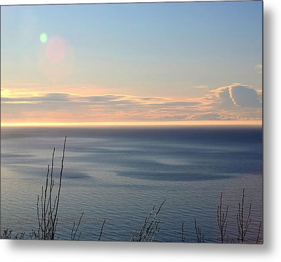 Metal Print featuring the photograph Calm Sea by Michele Cornelius