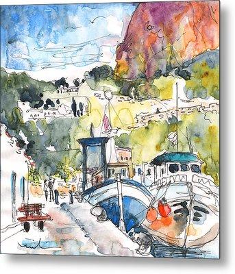 Calpe Harbour 05 Metal Print by Miki De Goodaboom