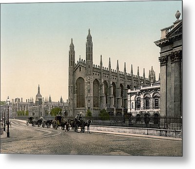 Cambridge - England - Kings College Metal Print by International  Images