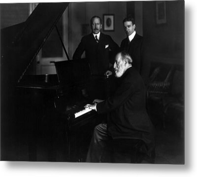 Camille Saint-saens 1835-1921, French Metal Print by Everett