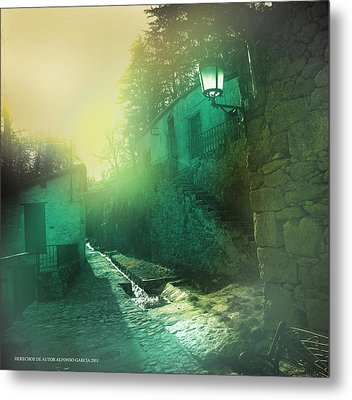 Metal Print featuring the photograph Camino A La Huerta by Alfonso Garcia