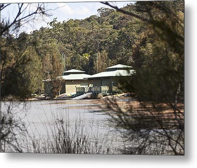 Metal Print featuring the photograph Camp On The Lake. by Carole Hinding