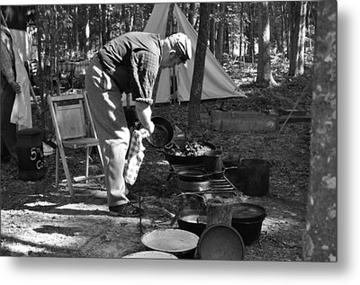Camp Site Metal Print by Tammy Price