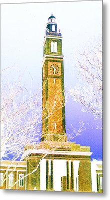 Campanile At Louisiana State University Metal Print
