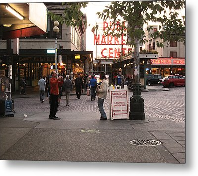 Can I Take Your Picture Metal Print by Kym Backland