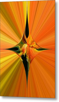 Cana Lily In Hyperdrive Metal Print by Gordon Engebretson
