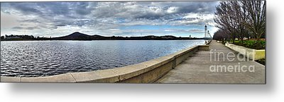 Canberra Foreshore Metal Print by Joanne Kocwin