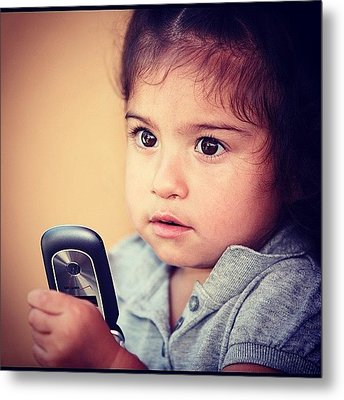 #candid #portrait #childreen #travel Metal Print