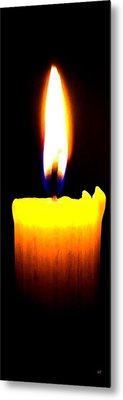 Candle Power Metal Print by Will Borden