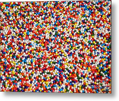Candy Balls Metal Print by Methune Hively
