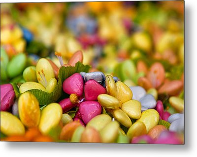 Candy Flowers Metal Print