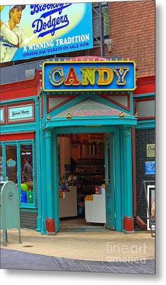Candy Store Metal Print by Sophie Vigneault