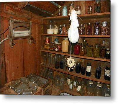Canning Shed I Metal Print by Sheri McLeroy