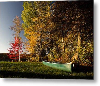 Canoe Metal Print by Cale Best