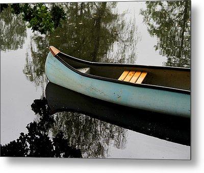 Canoe Metal Print by Odd Jeppesen