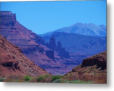 Canyon Colors Metal Print by Dany Lison