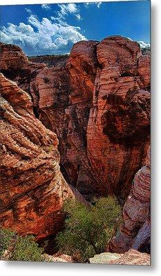 Canyon Glow Metal Print by Rick Berk