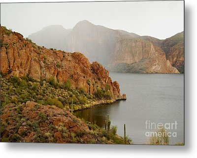 Metal Print featuring the photograph Canyon Lake by Tam Ryan
