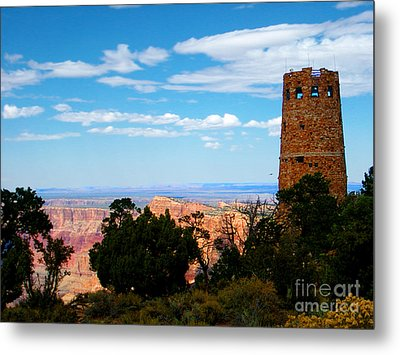 Canyon Look Out Metal Print by The Kepharts