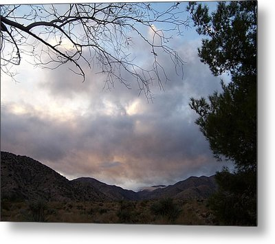Metal Print featuring the photograph Canyon Sky by Christine Drake