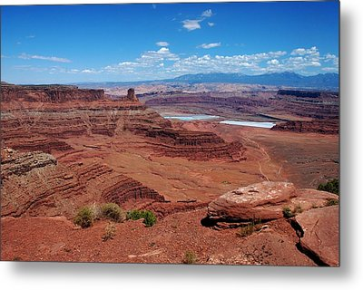 Metal Print featuring the photograph Canyonlands by Dany Lison