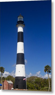 Cape Canaveral Lighthouse 2 Metal Print by Roger Wedegis