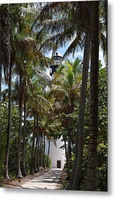 Cape Florida Lighthouse Metal Print by Brenda Thimlar