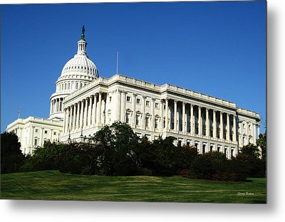 Metal Print featuring the photograph Capitol Building by George Bostian